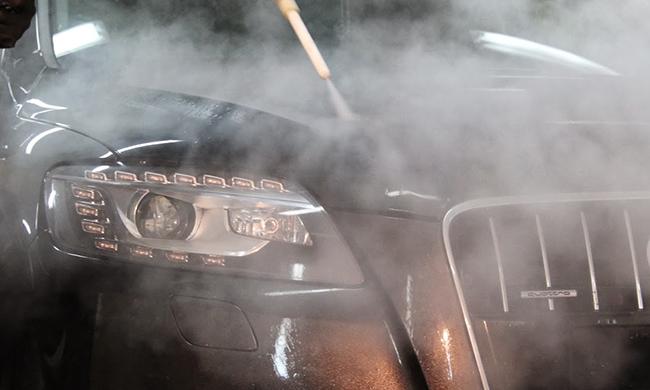 Где происходит химчистка автомобиля?